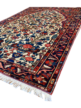 "Persian Esfahan 8' 2"" x 12' 1"" Handmade Area Rug - Shabahang Royal Carpet"