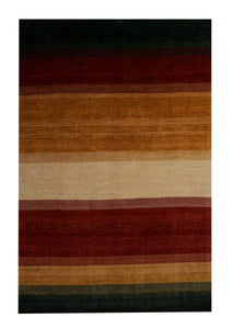 "Persian Gabbeh 6' 8"" x 9' 8"" Wool Handmade Area Rug - Shabahang Royal Carpet"