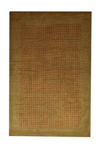 "Persian Gabbeh 3' 3"" x 5' Wool Handmade Area Rug - Shabahang Royal Carpet"