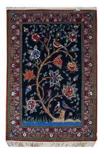 "Persian Esfahan 2' 4"" x 3' 5"" - Shabahang Royal Carpet"
