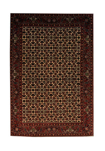 "Persian Bijar 3' 3"" x 4' 8"" Handmade Area Rug - Shabahang Royal Carpet"