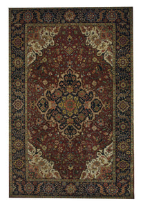 "Heriz 6' x 9' 3"" Wool Handmade Area Rug - Shabahang Royal Carpet"