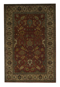 Traditional 4' x 6' Wool Handmade Area Rug - Shabahang Royal Carpet