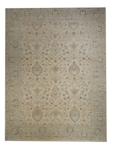 "Transitional 5' x 6' 7"" Handmade Area Rug - Shabahang Royal Carpet"