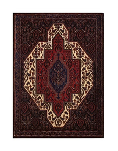 "Persian Seneh 2' 2"" x 3' 2"" Handmade Area Rug - Shabahang Royal Carpet"