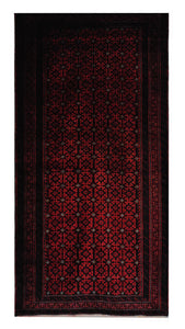 "Persian Balouchi 3' 10"" x 7' 6"" Handmade Area Rug - Shabahang Royal Carpet"
