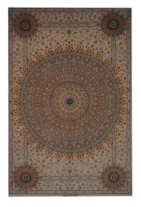 "Persian Esfahan 5' 3"" x 7' 11"" - Shabahang Royal Carpet"