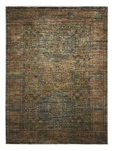 "Mamluk 4' 11"" x 6' 6"" Handmade Area Rug - Shabahang Royal Carpet"