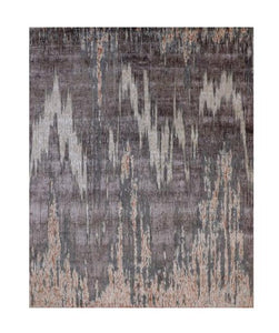 "Wave 8' x 10' 2"" Handmade Area Rug - Shabahang Royal Carpet"