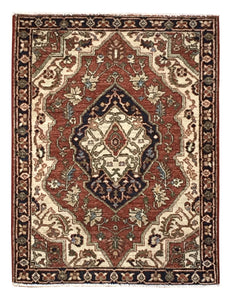 "Heriz 2' 8"" x 3' 8"" Handmade Area Rug - Shabahang Royal Carpet"