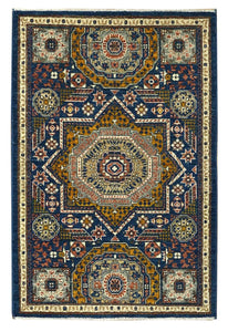 "Mamluk 2' 8"" x 4' Handmade Area Rug - Shabahang Royal Carpet"