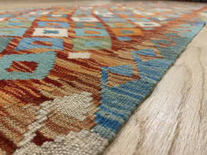 "Vintage Style Kilim Runner 2' 8"" x 10' - Shabahang Royal Carpet"