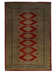 Bokara Tribal Handmade Area Rug - Shabahang Royal Carpet