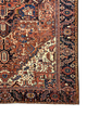 "Antique Persian Heriz 8' 9"" x 12' 2"" Handmade Area Rug - Shabahang Royal Carpet"