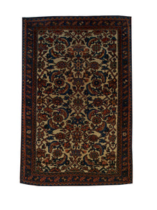 Antique Persian Hamadan Handmade Wool Area Rug - Shabahang Royal Carpet