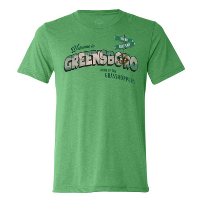 108 Stitches Welcome to Greensboro Tee