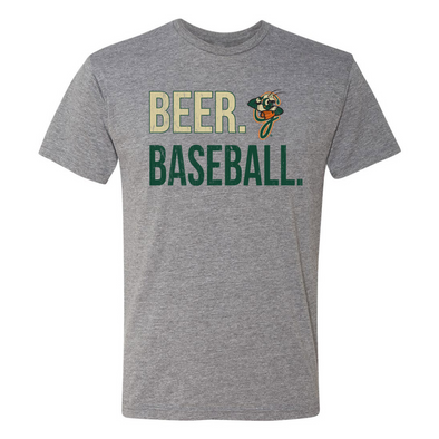 108 Stitches Beer Baseball Tee