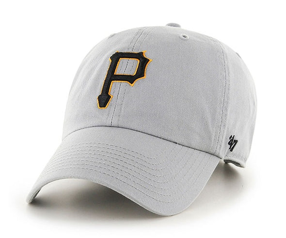 Pittsburgh Pirates 47 Brand Clean Up Cap - Gray
