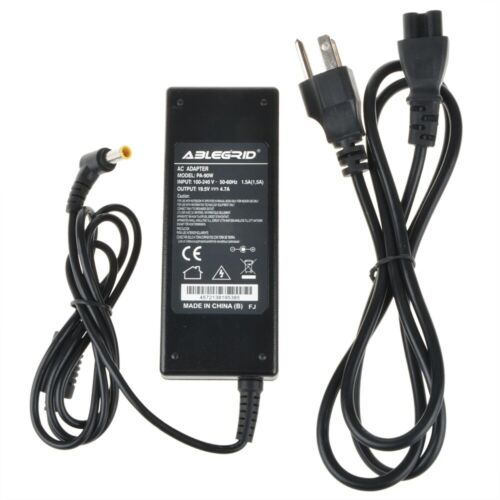 AC Adapter Battery Charger Power for Sony VGN-FW510F VGN-FW518F/B VGN-NS140E