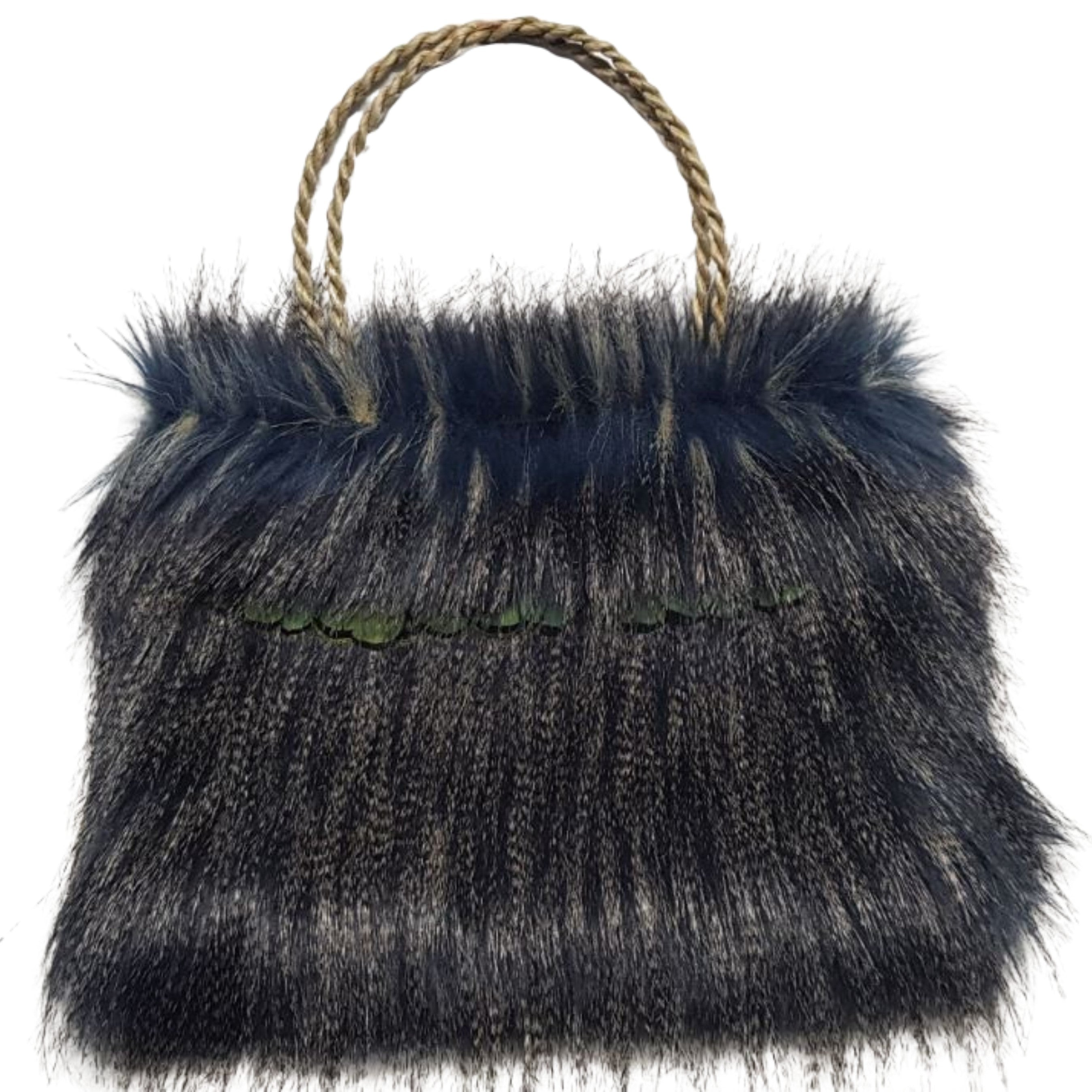 Kete fur Bag BLUE
