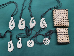 maori necklace bone pendant