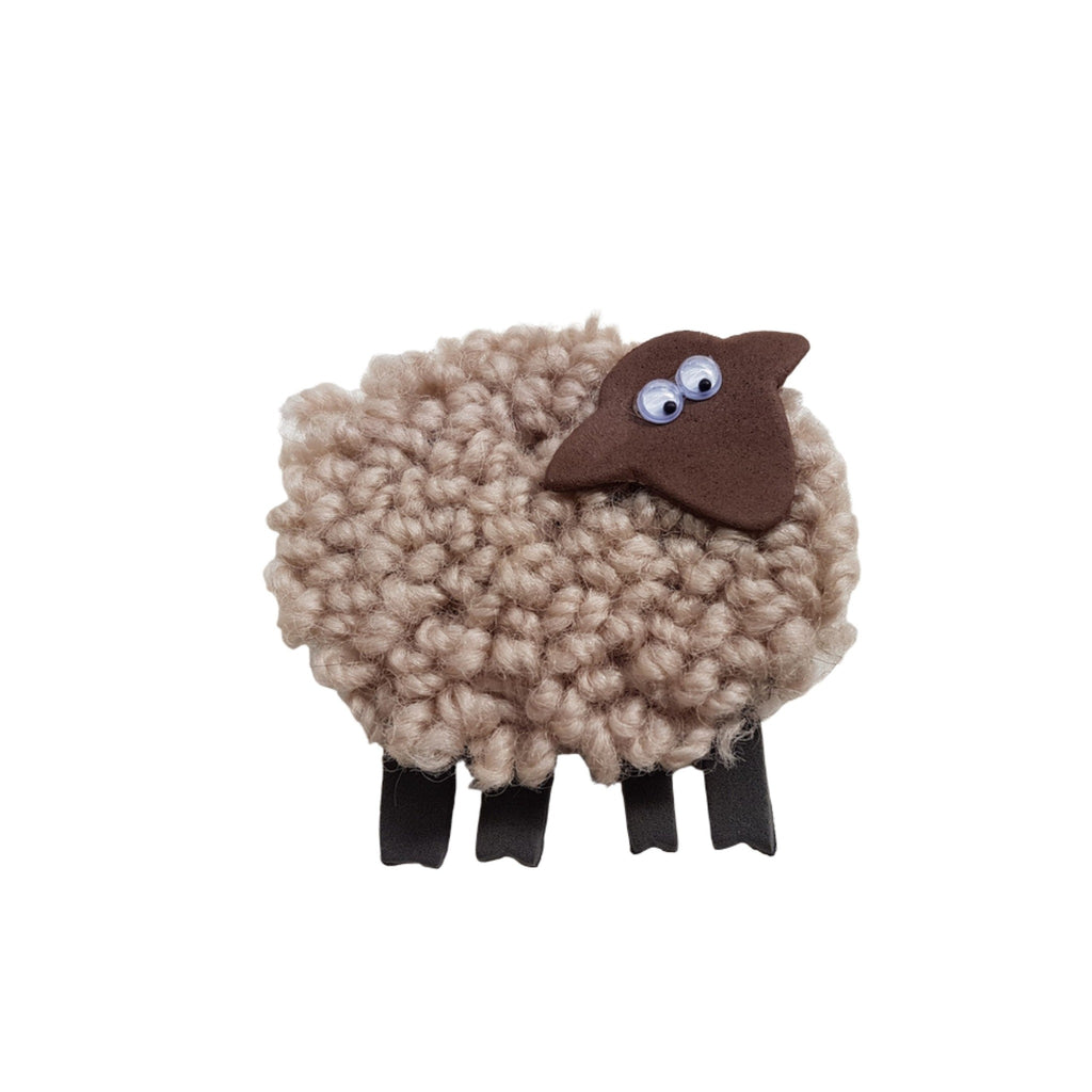 Carpet sheep magnet