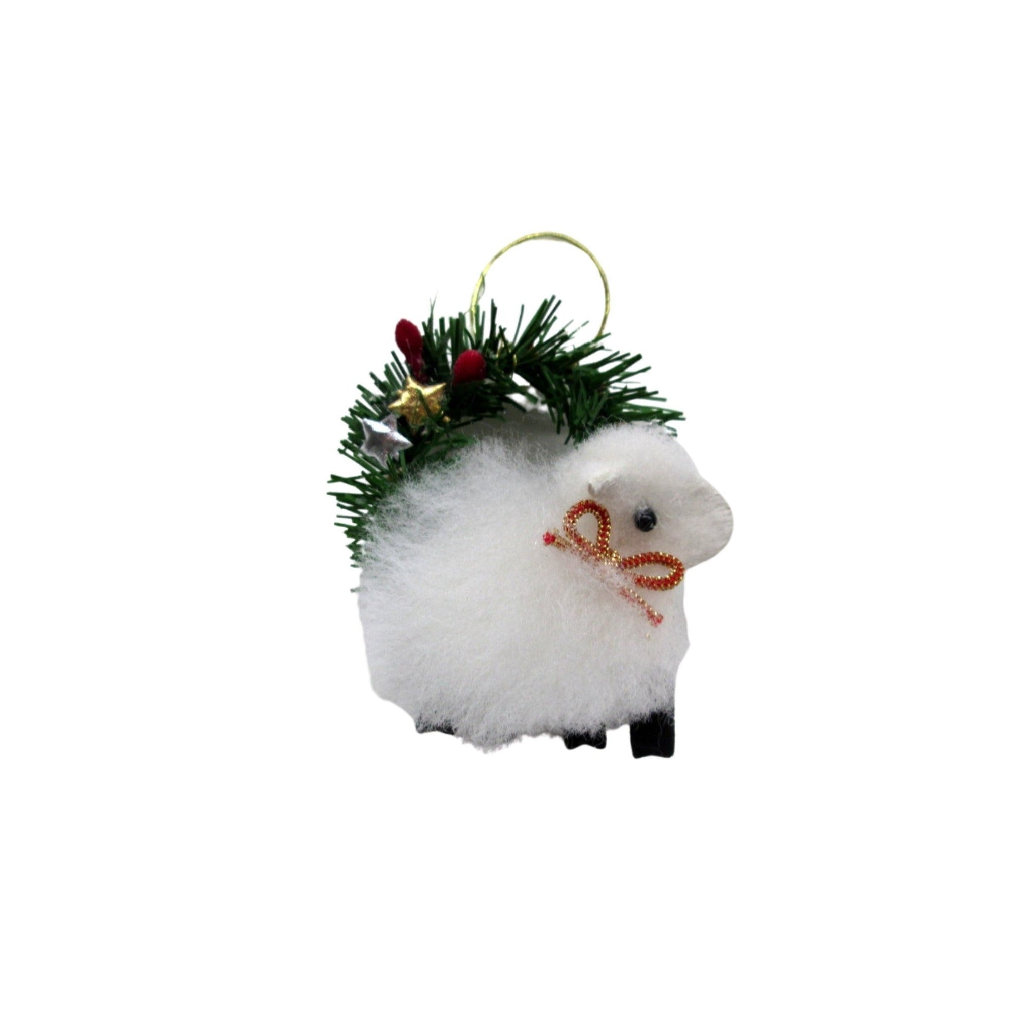 new zealand sheep christmas decoration