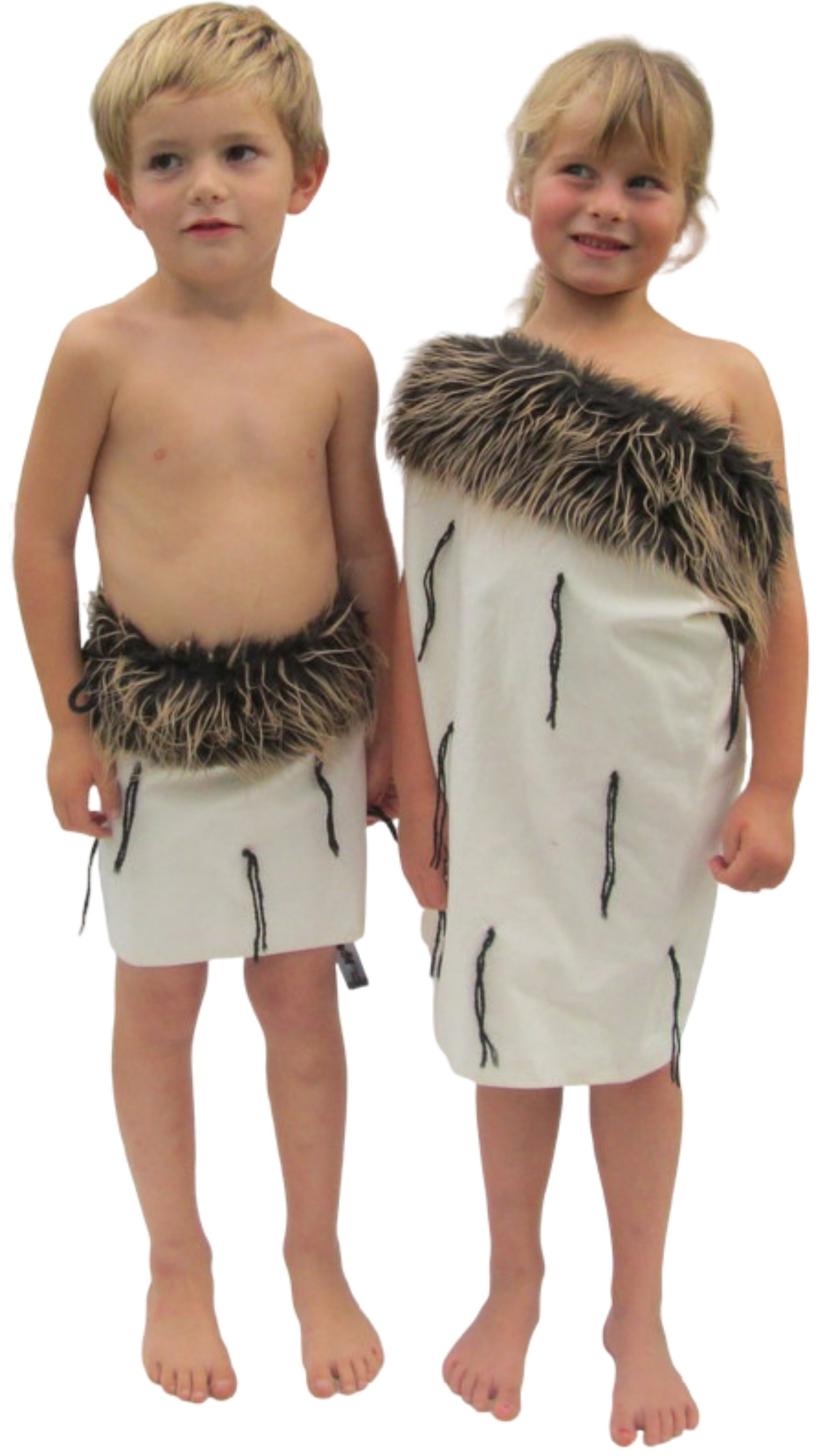 Boys rapaki and childs maori cloak