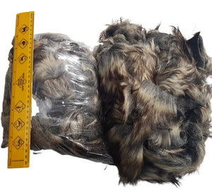 Sheepskin waste size