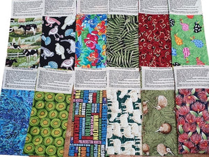 New Zealand Heat Bags (Cotton Fabrics)