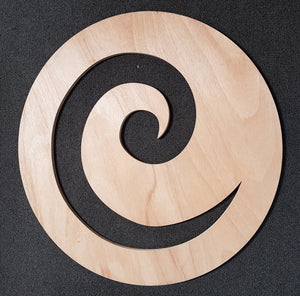 Koru shape large for kindergarten playgrounds