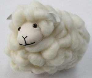 Cute sheep toy loopy wool toy