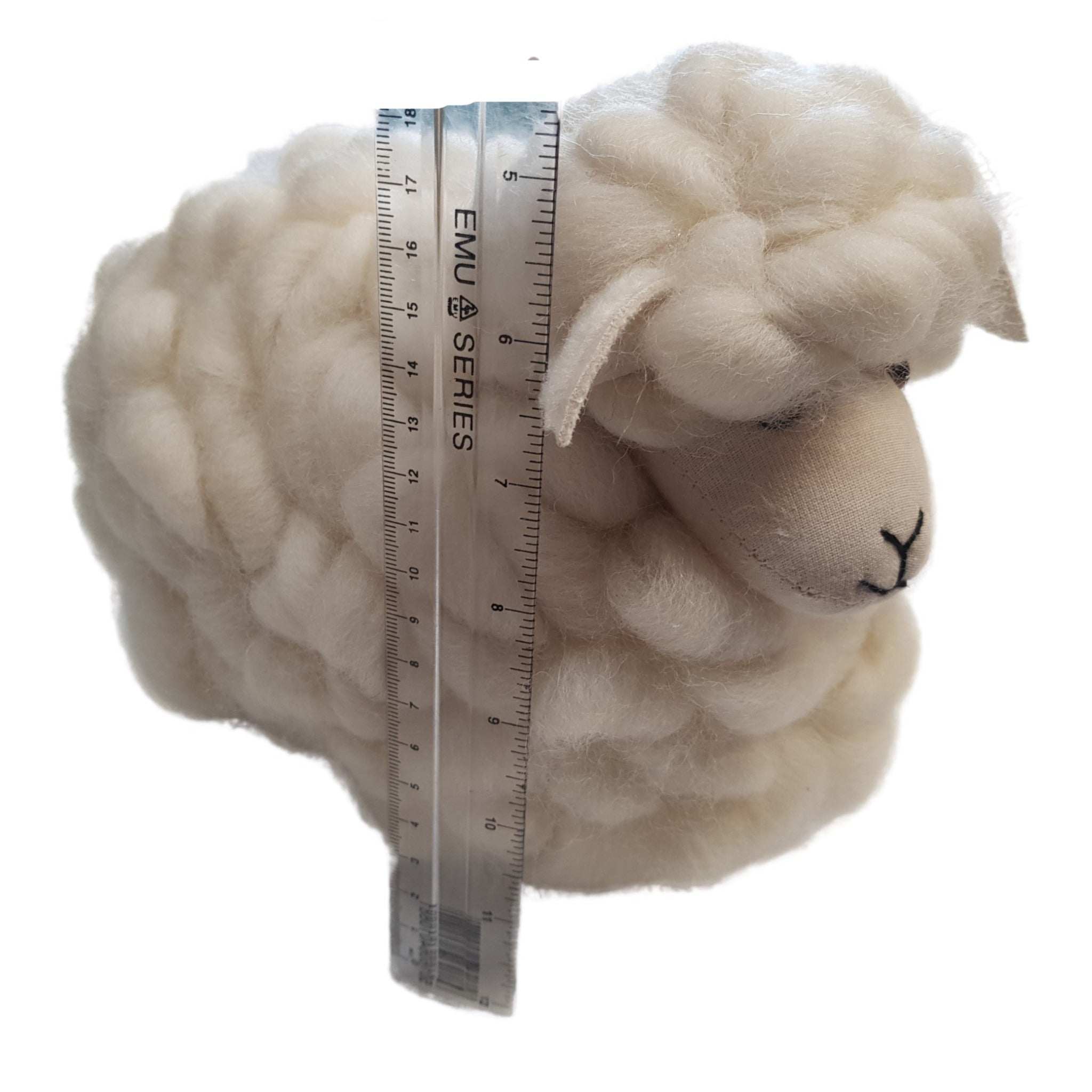 Large Loopy Wool Sheep (white)