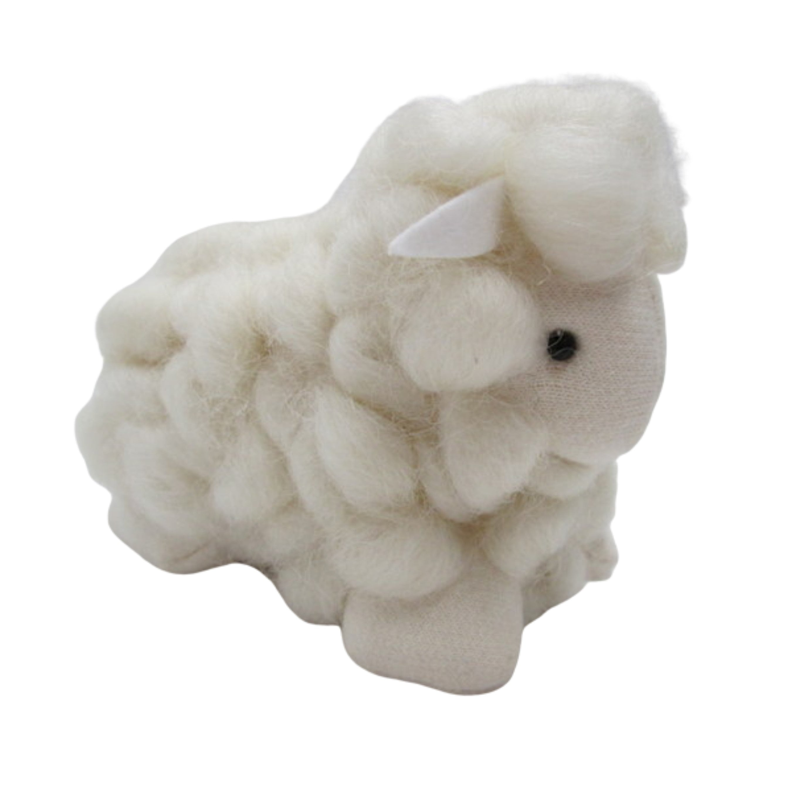 Small Loopy Wool Lamb (white)