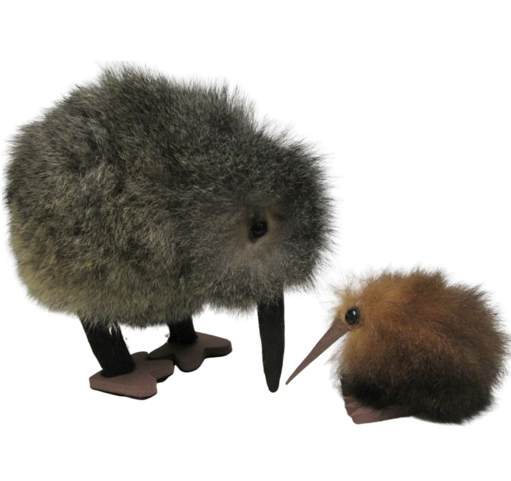 Kiwi toy made from possum fur