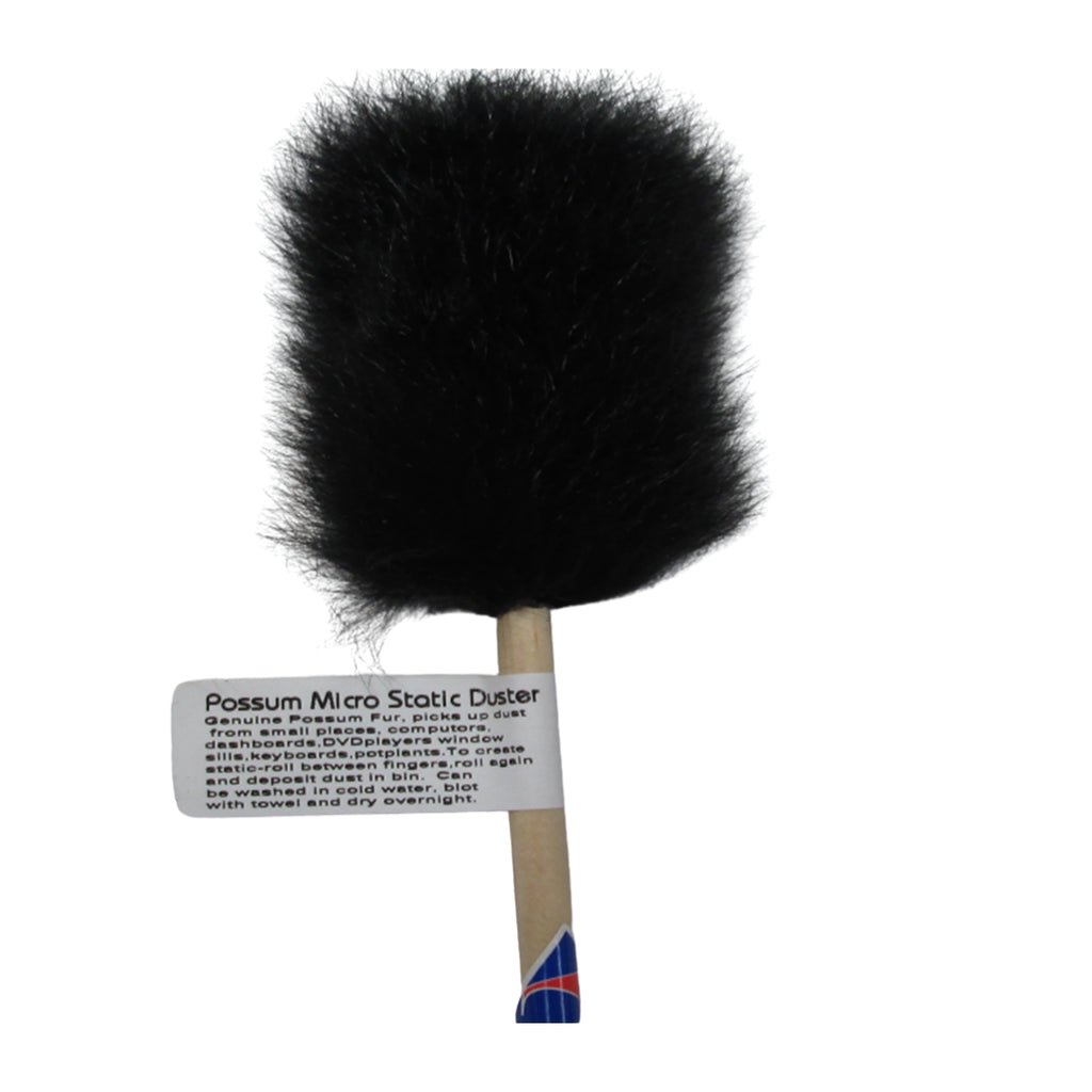 Possum fur duster