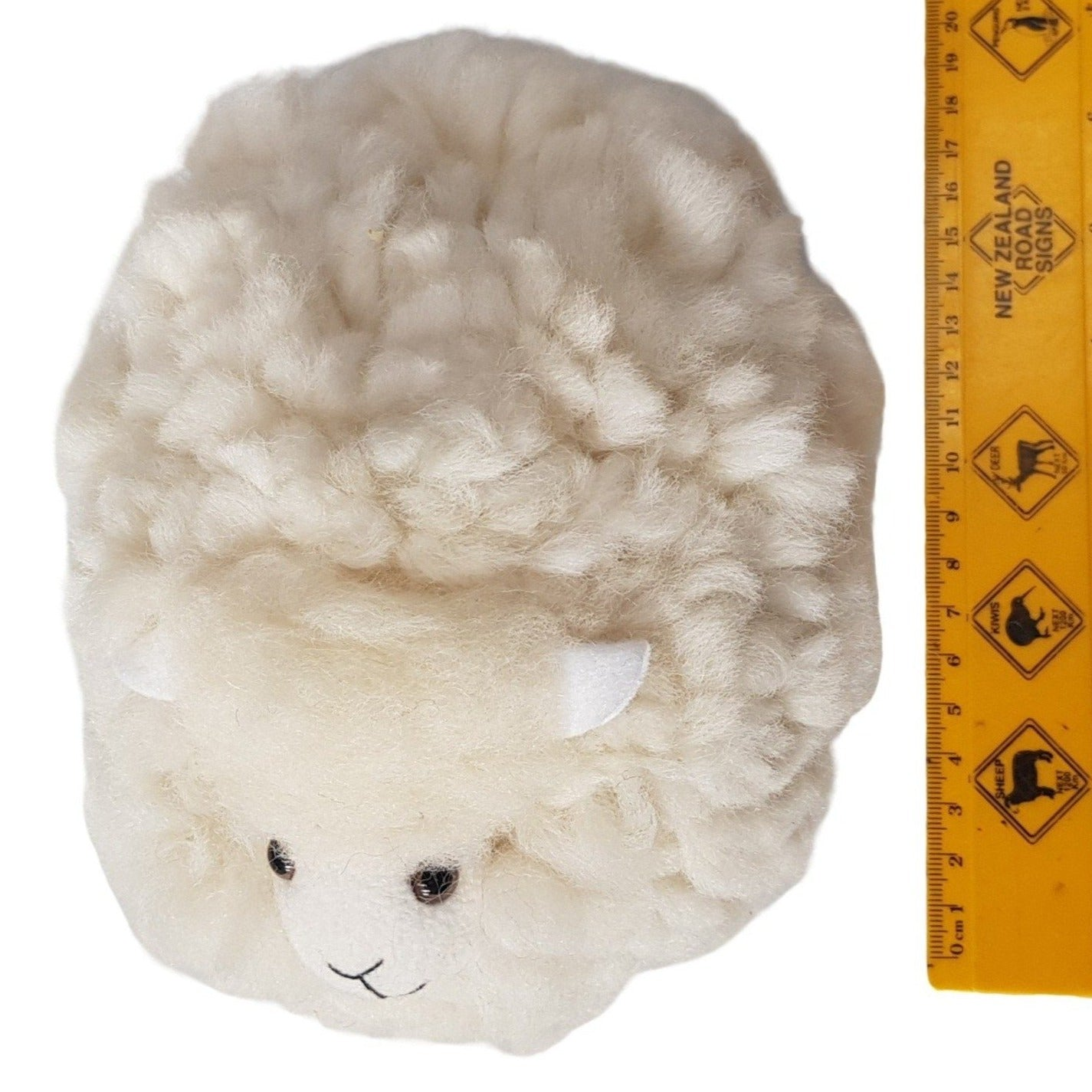 new zealand wool toy sheep