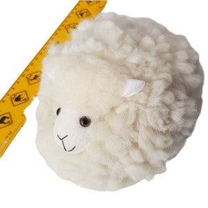 Real wool pompom sheep