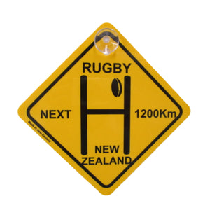 Rugby Roadsign