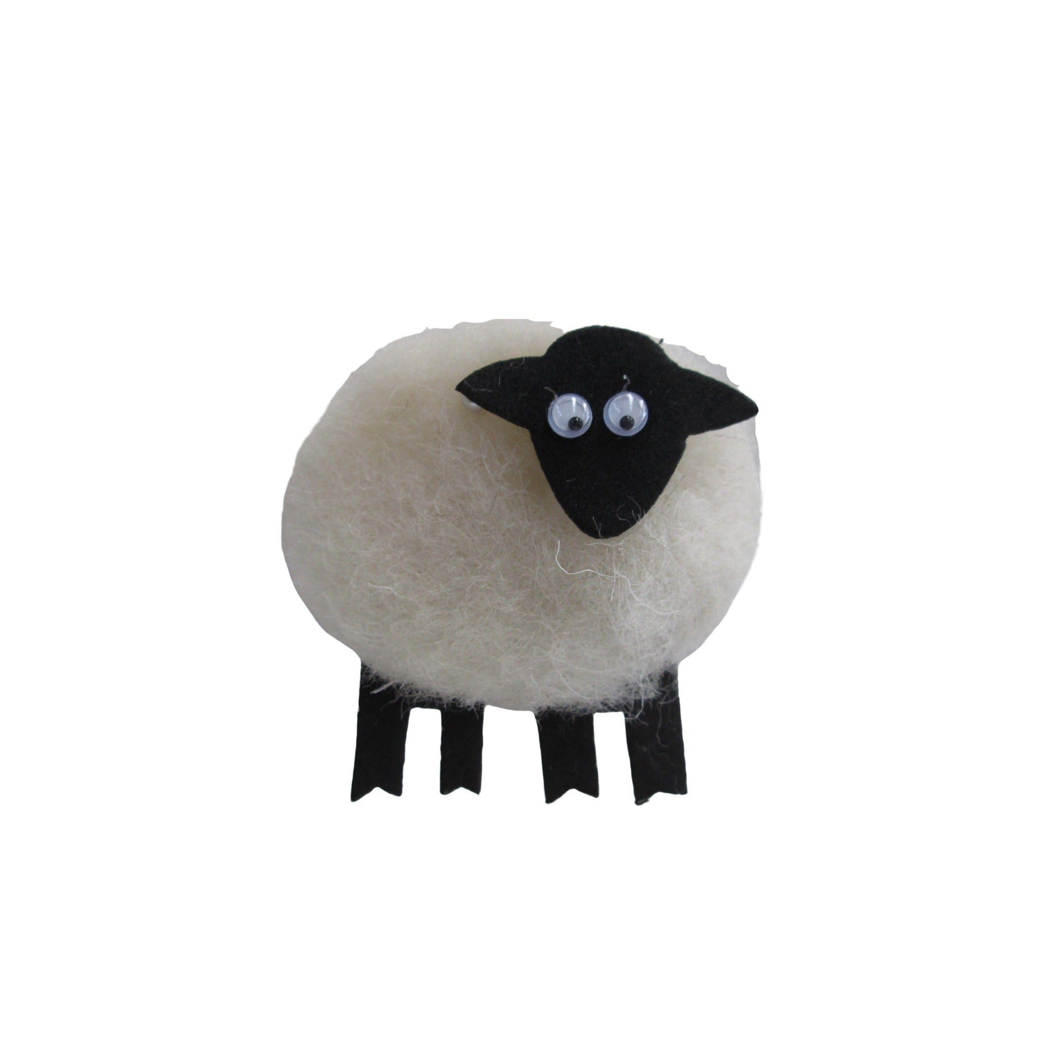 Wool Sheep Magnet