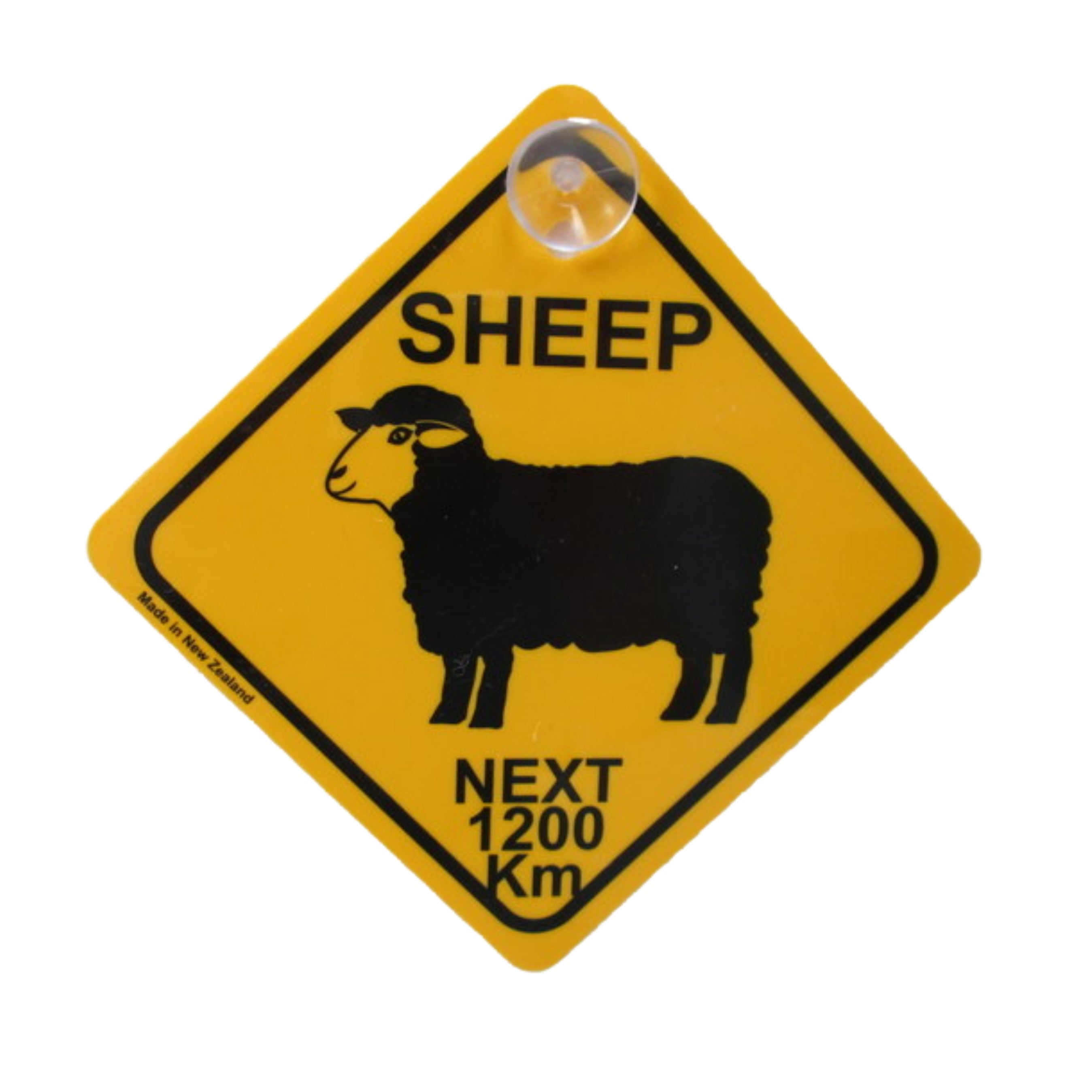Sheep Roadsign