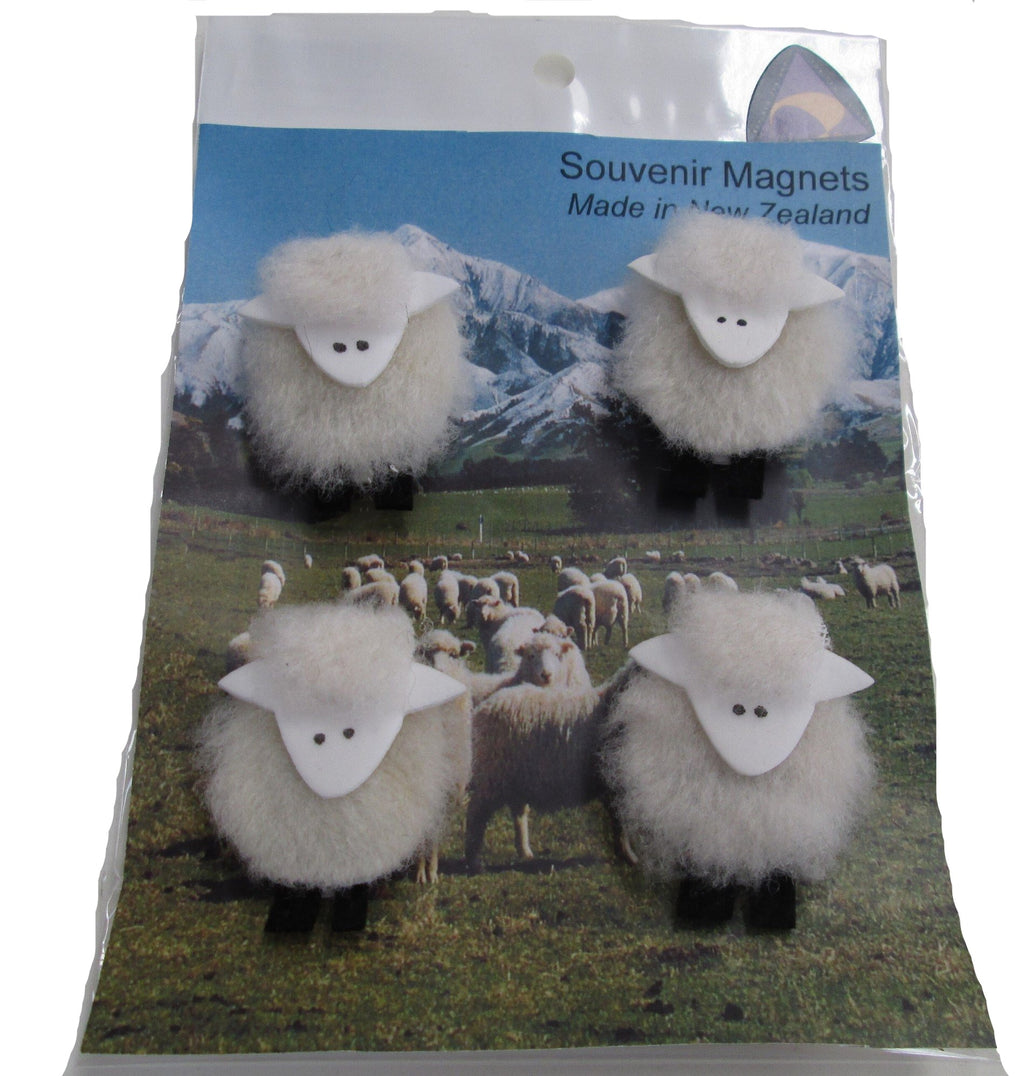 Sheep Magnets on Scenic card
