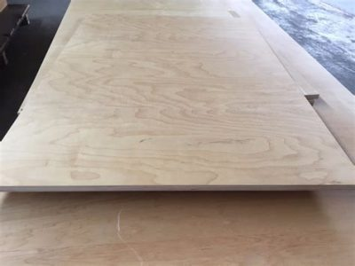 Plywood sheet for outdoor New Zealand shapes