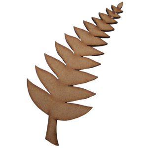 Fern wooden cutout