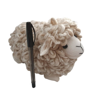 baa sheep toy new zealand wool
