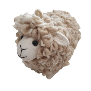 New Zealand curly wool sheep