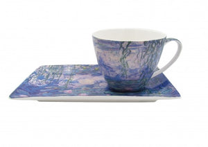 WATER LILLIES CUP & SAUCER MONET
