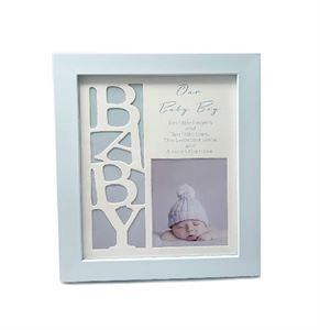 OUR BABY BOY PHOTO FRAME