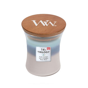 WOODWICK WOVEN COMFORTS TRILOGY MEDIUM
