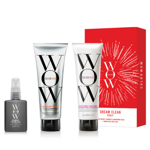 Color Wow Dream Clean Curly Pack